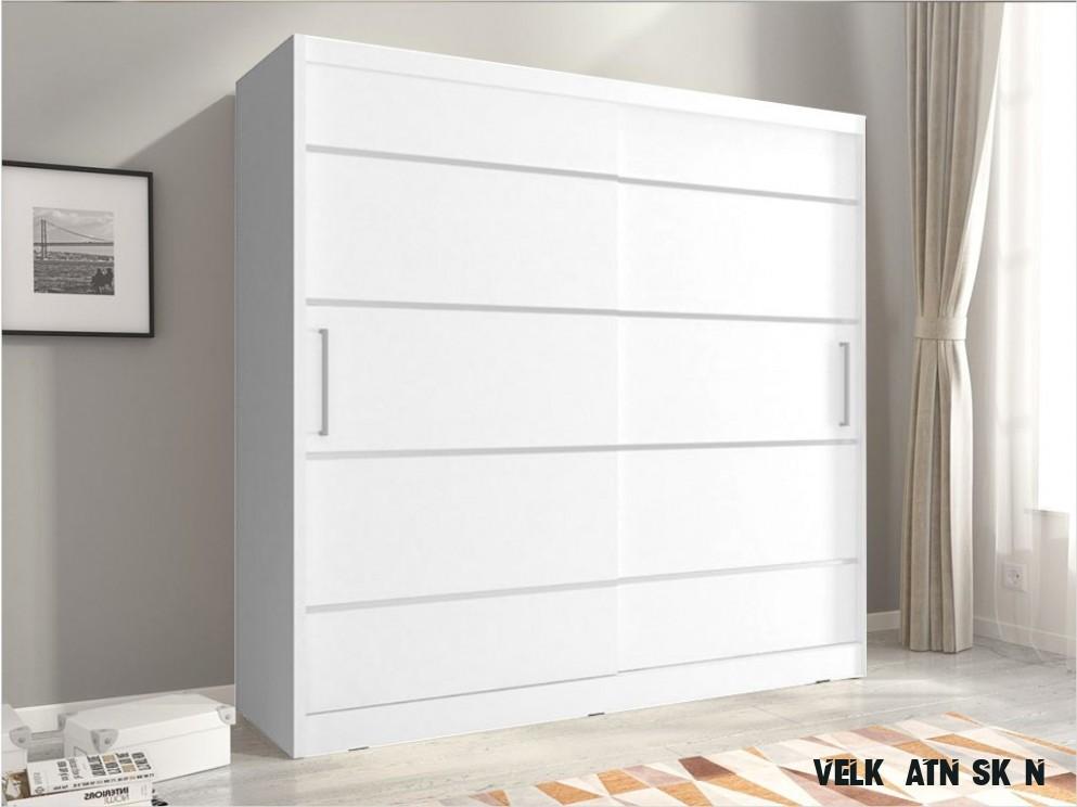 Šatní skříně šířky 13 cm - nábytek MAXIVA