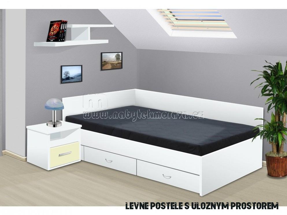 postel s úložným prostorem Renata 19x19 cm