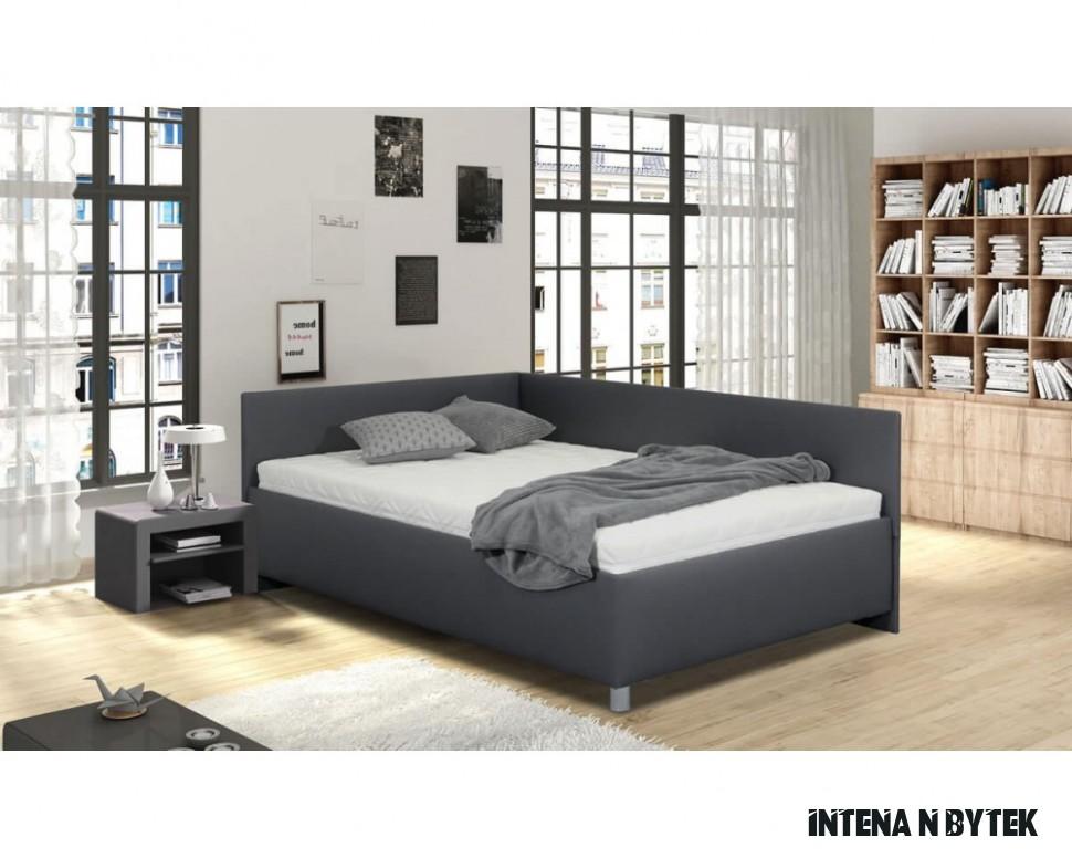 وراء نموذجي مأساة postele a ložnice vykona nábytek intena - archie