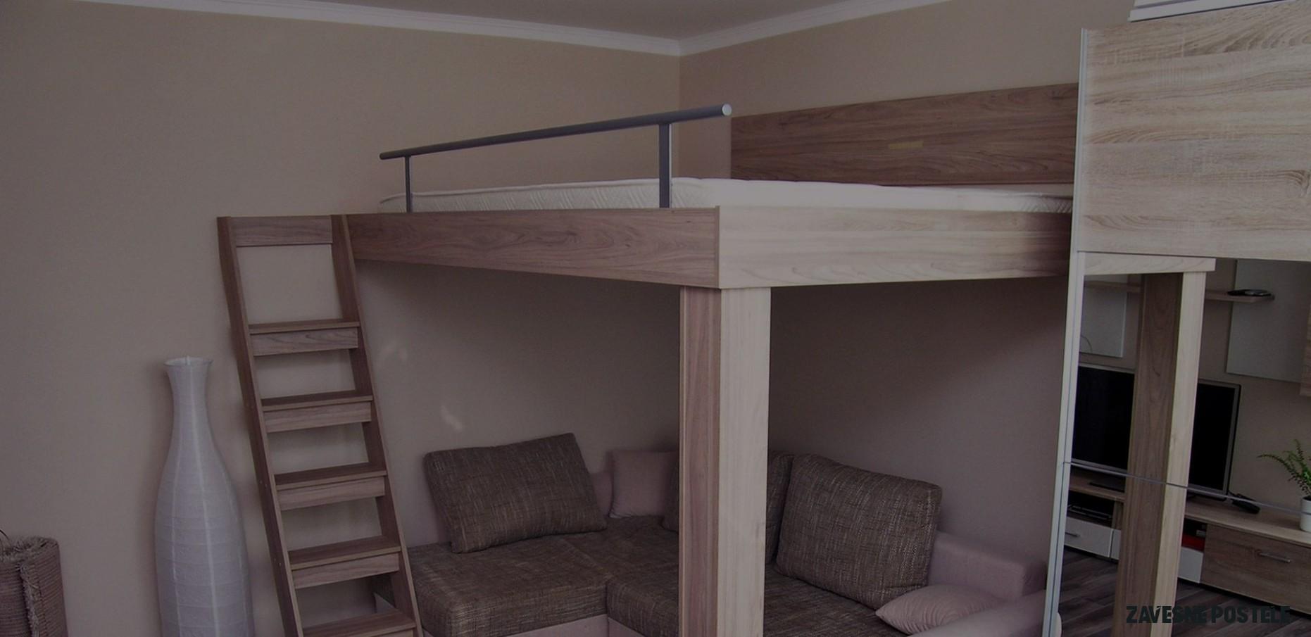 Návrh a zpracování závěsných postelí a postelí na noze včetně