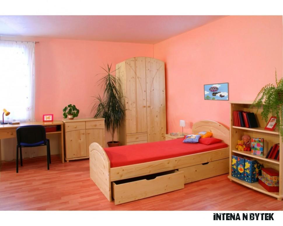 Dětský nábytek ALPIK, masiv smrk - Nábytek INTENA