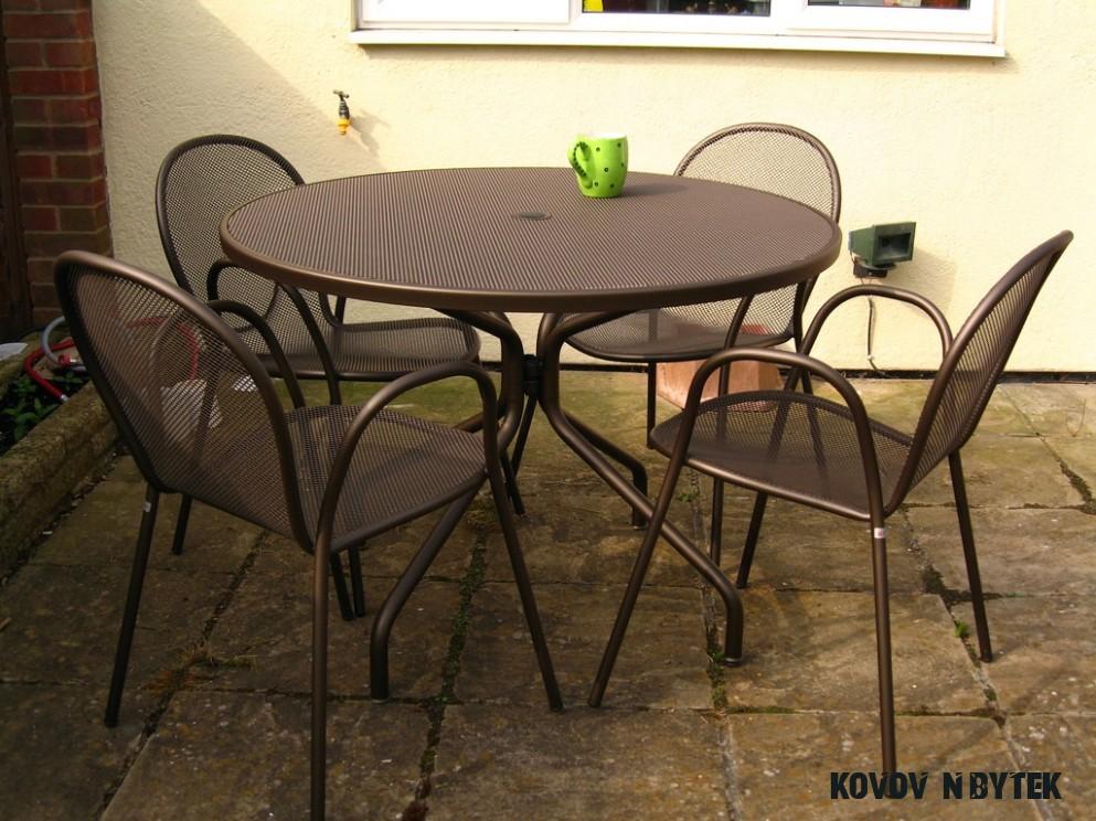 Kovový nábytek  Zahradní nábytek - nábytek na každou zahradu!