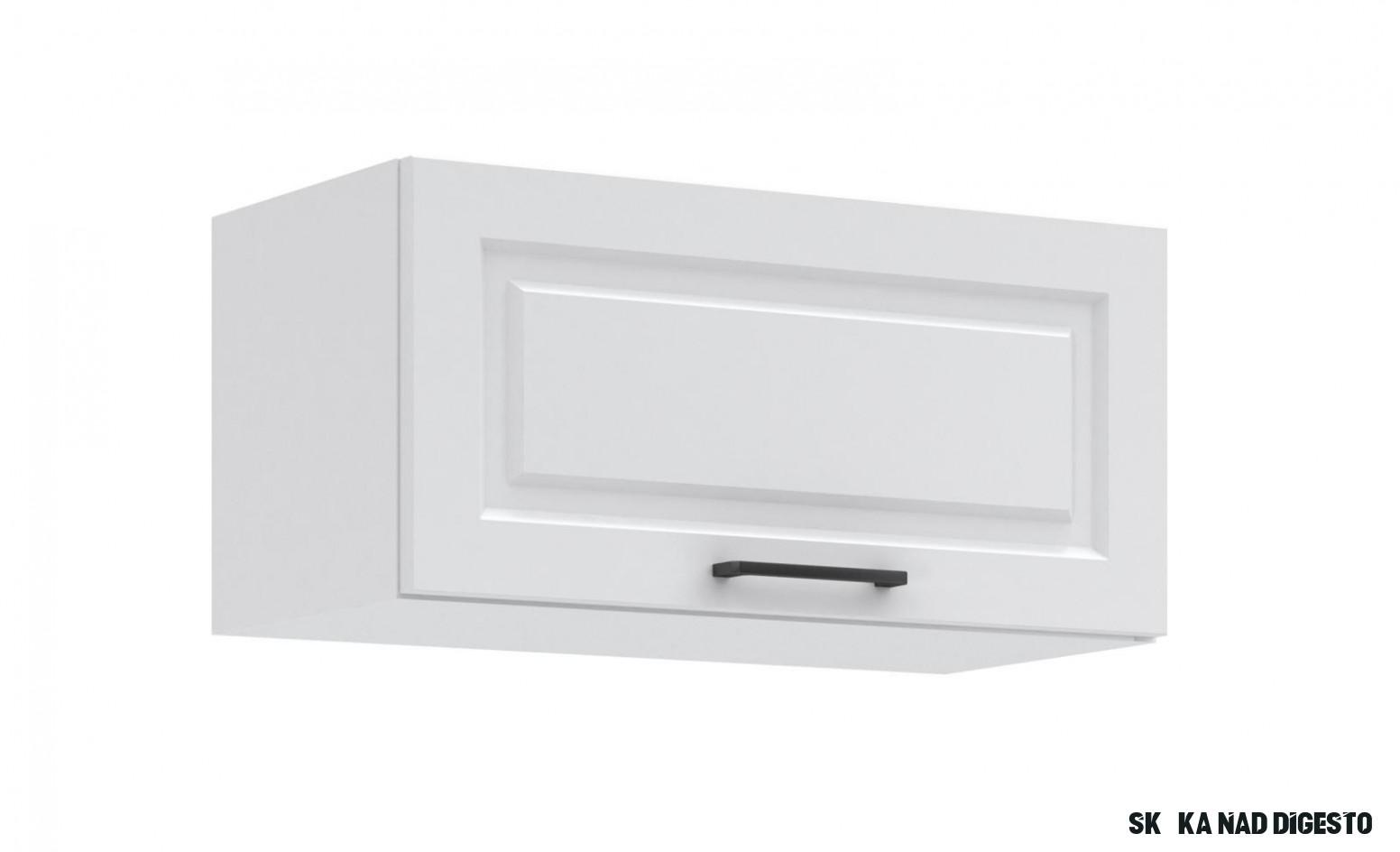 Kuchyňská skříňka nad digestoř Irma KL1111-11D bílá MAT  Pěkný Nábytek