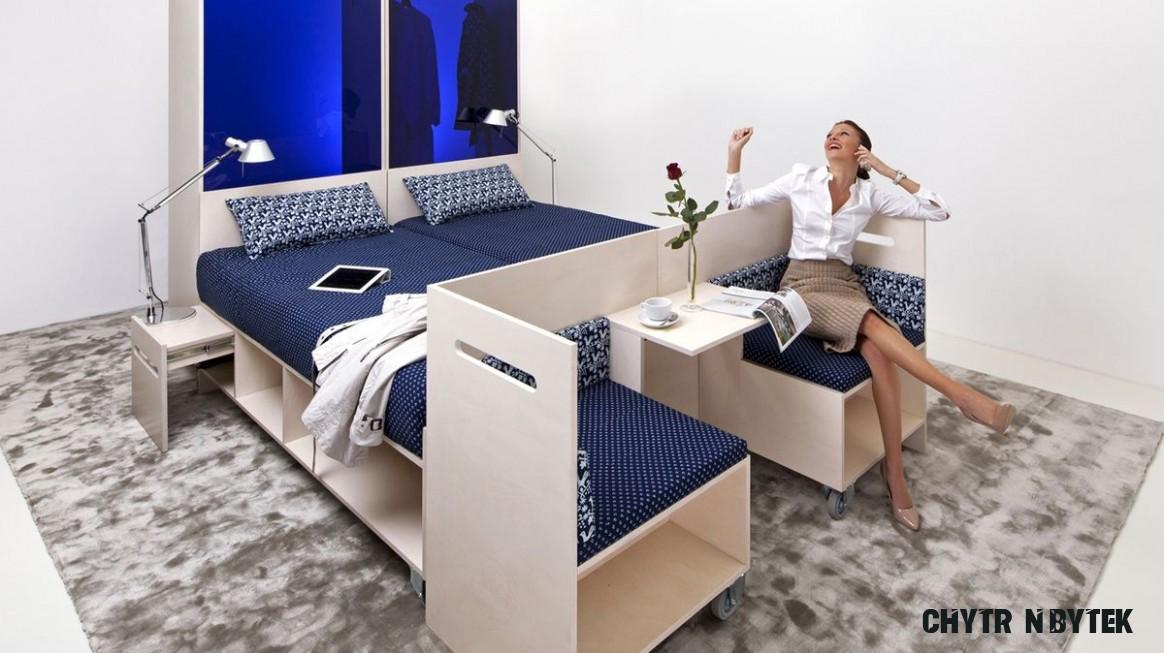 Multifunkční nábytek aneb Proměňte stůl na postel! - Proženy