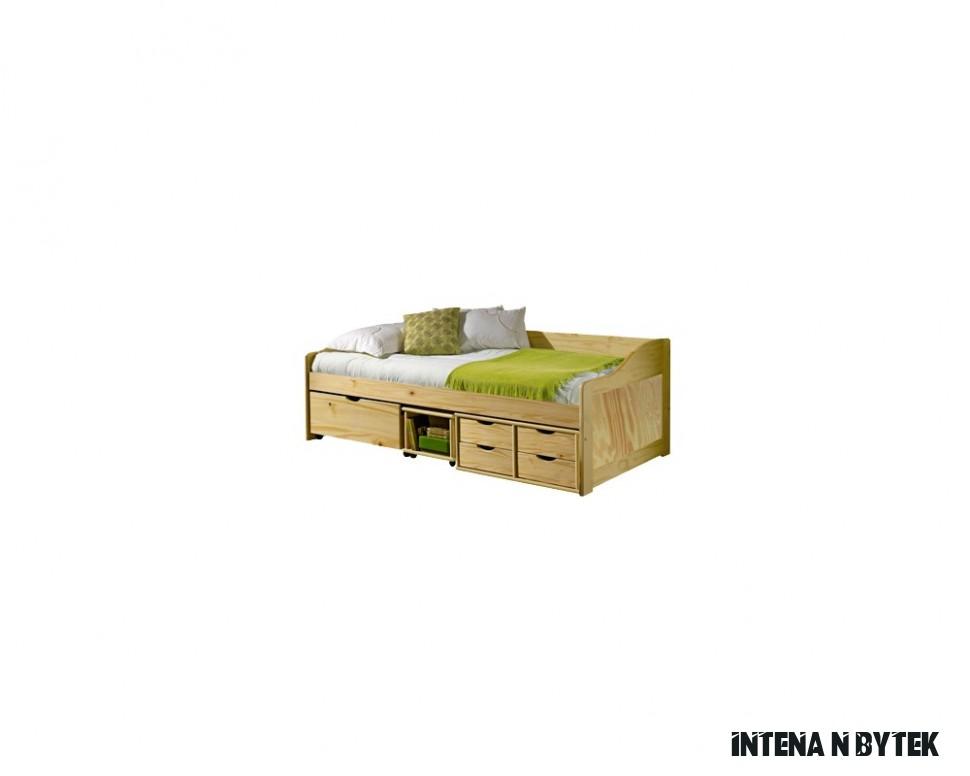 Dětský nábytek z masivu - sestava INTENA-12, borovice - Nábytek INTENA
