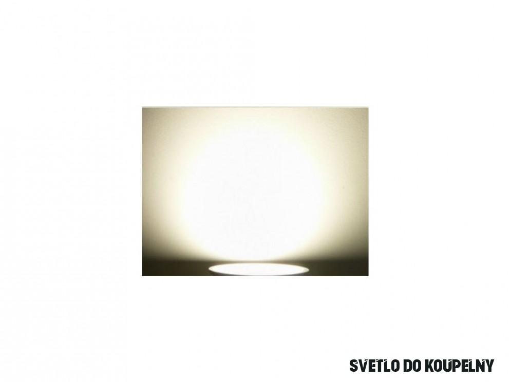 LED stropné svietidlo do kúpeľne IP16 16W 16V satén nikel