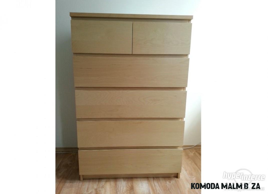 Komoda IKEA MALM - inzerce, prodám - Hyperinzerce.cz