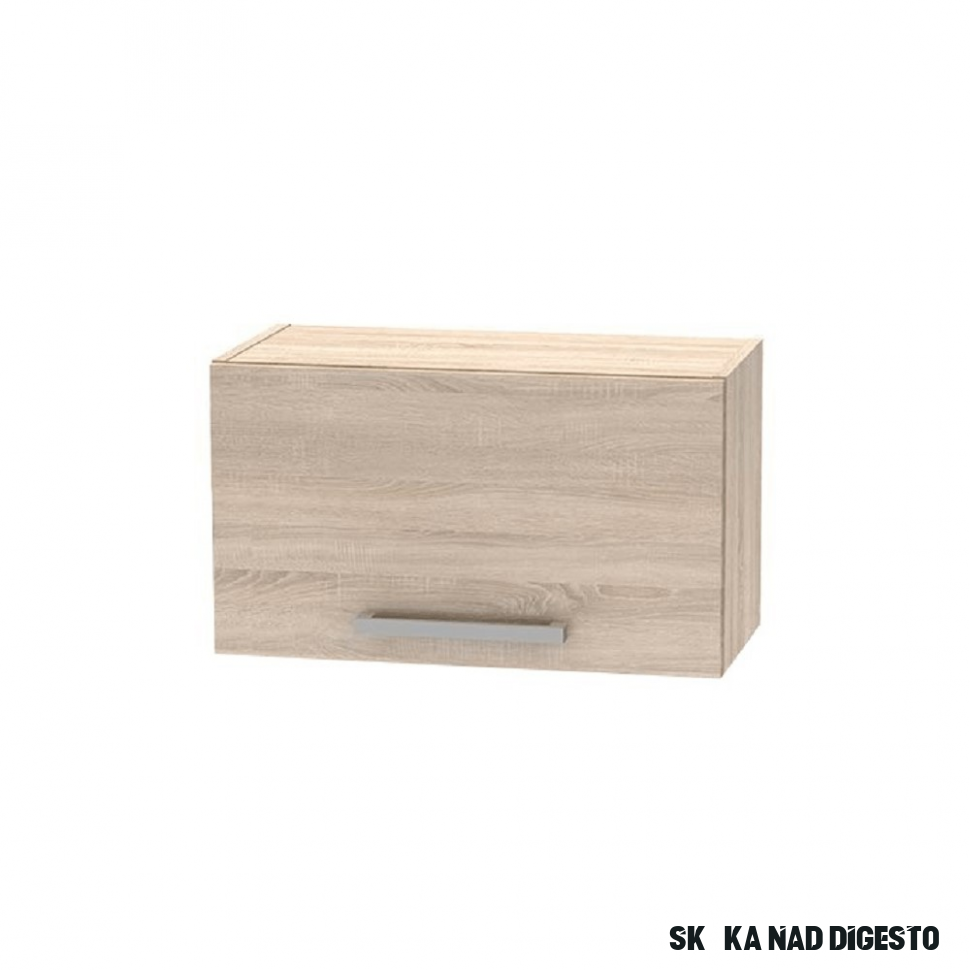 Horní skříňka nad digestoř 1111 11DV, dub sonoma, NOVA PLUS, NOPL-1111-OH