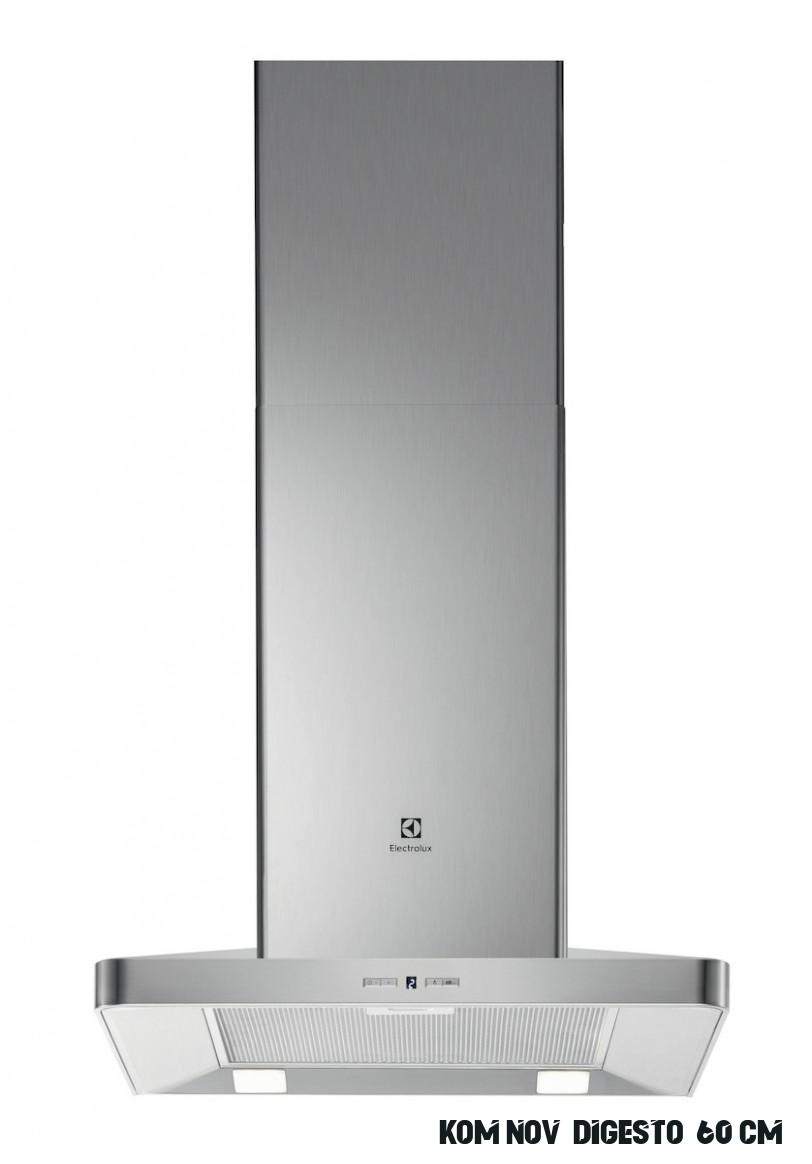 Komínová digestoř Electrolux 8 cm EFF858OX