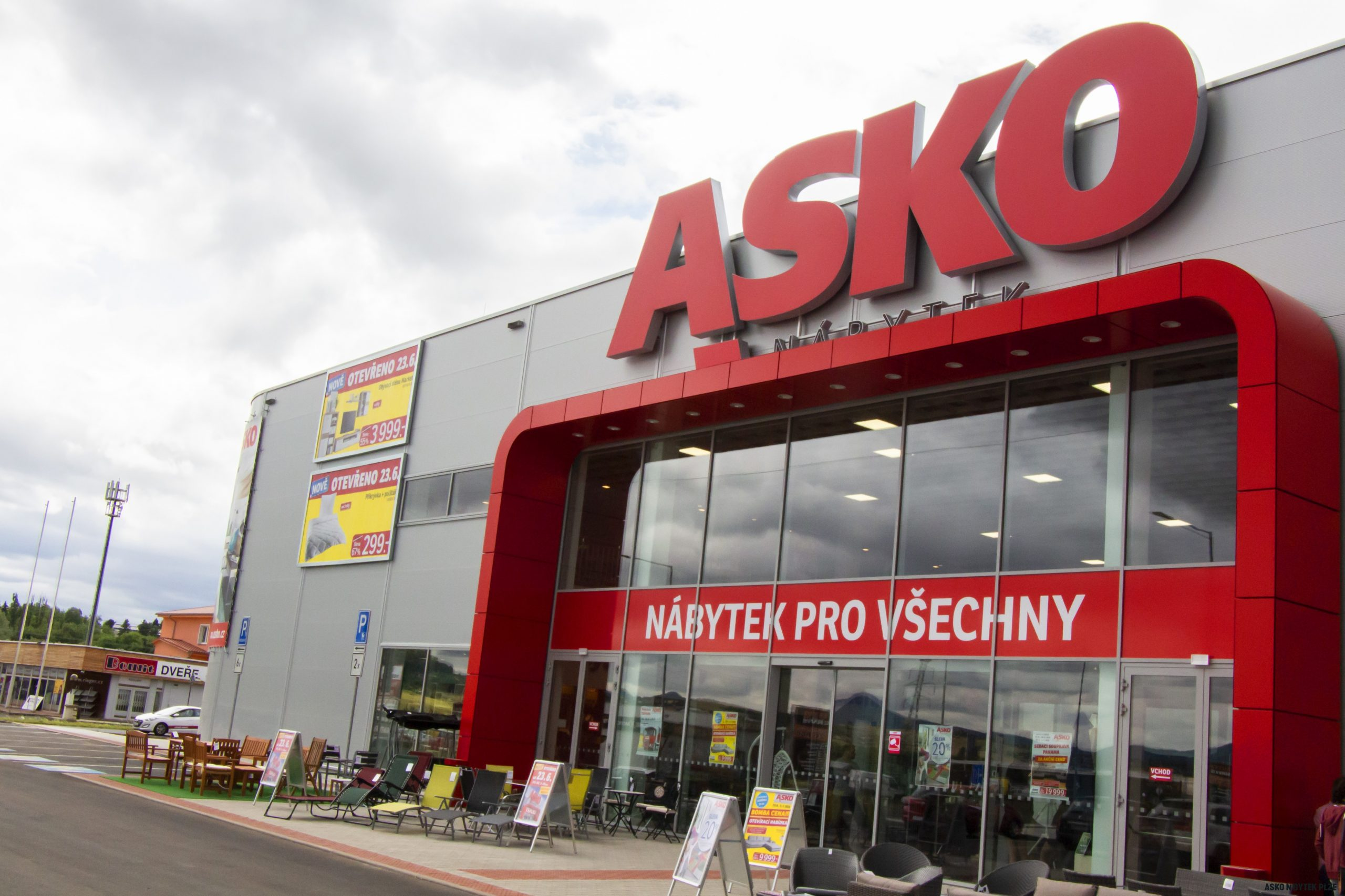 Prodejny ASKO - NÁBYTEK