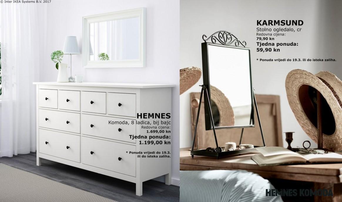 """IKEA Hrvatska on Twitter: """"[TJEDNA PONUDA] HEMNES komoda i"""