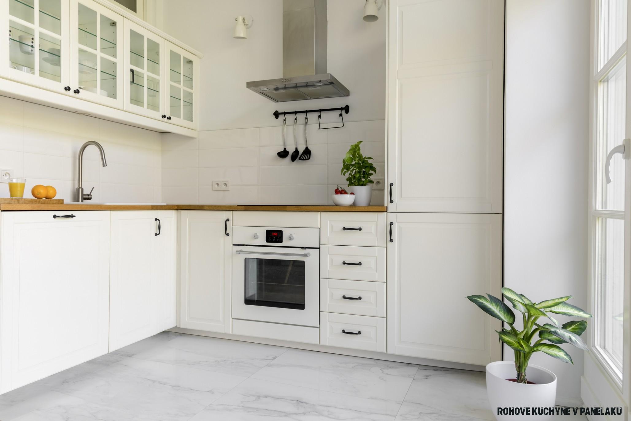 Kuchyne v byte – malé rohové sú správnou voľbou, no nielen tie