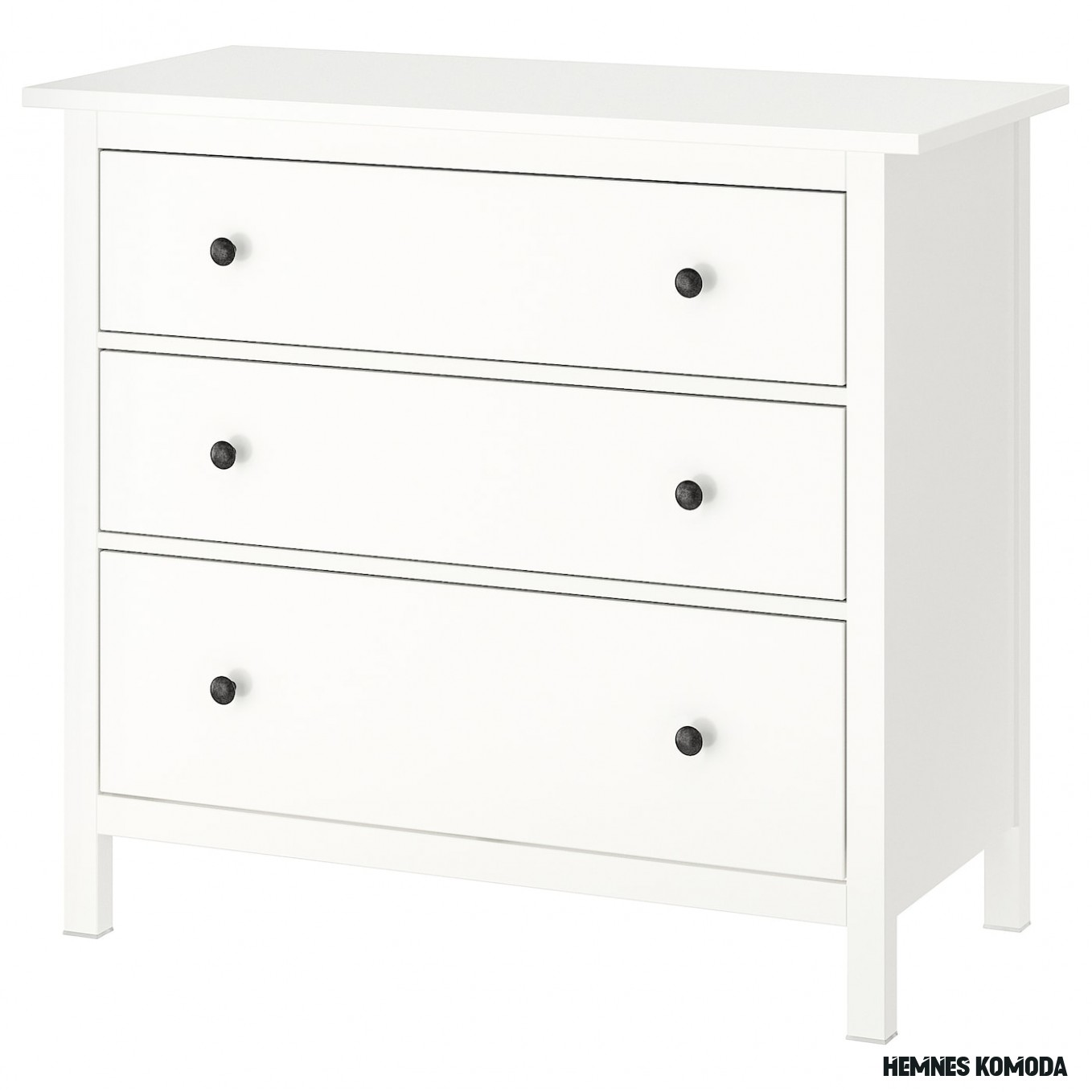 HEMNES Chest of 20 drawers - white 20x20 cm