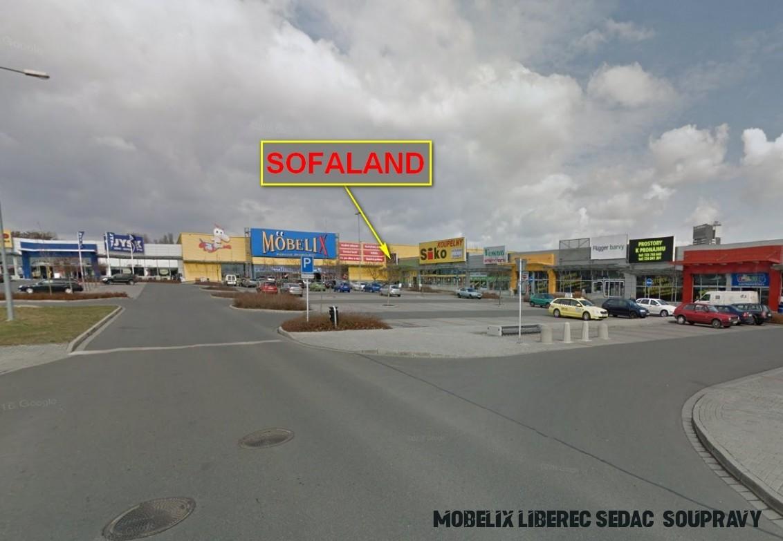 Prodejna sedacích souprav Sofaland Olomouc