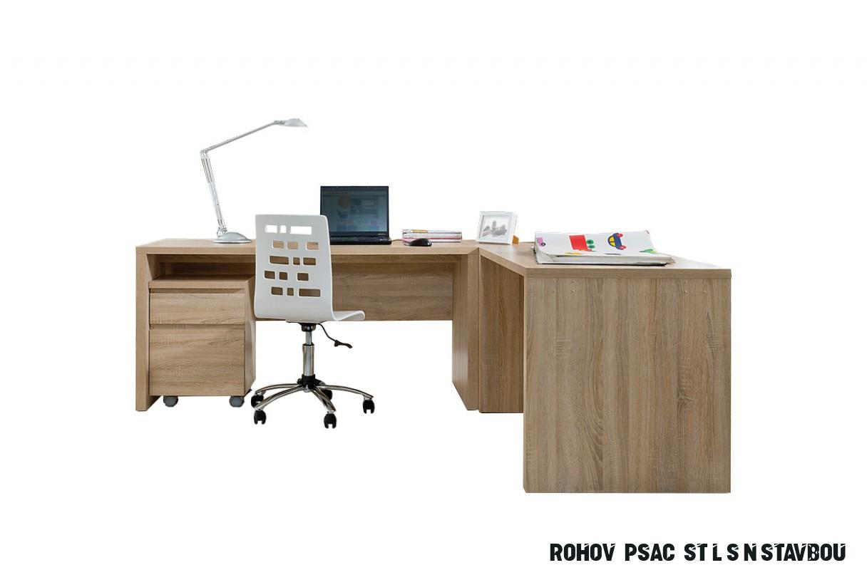 Rohový psací stůl Regiana 8