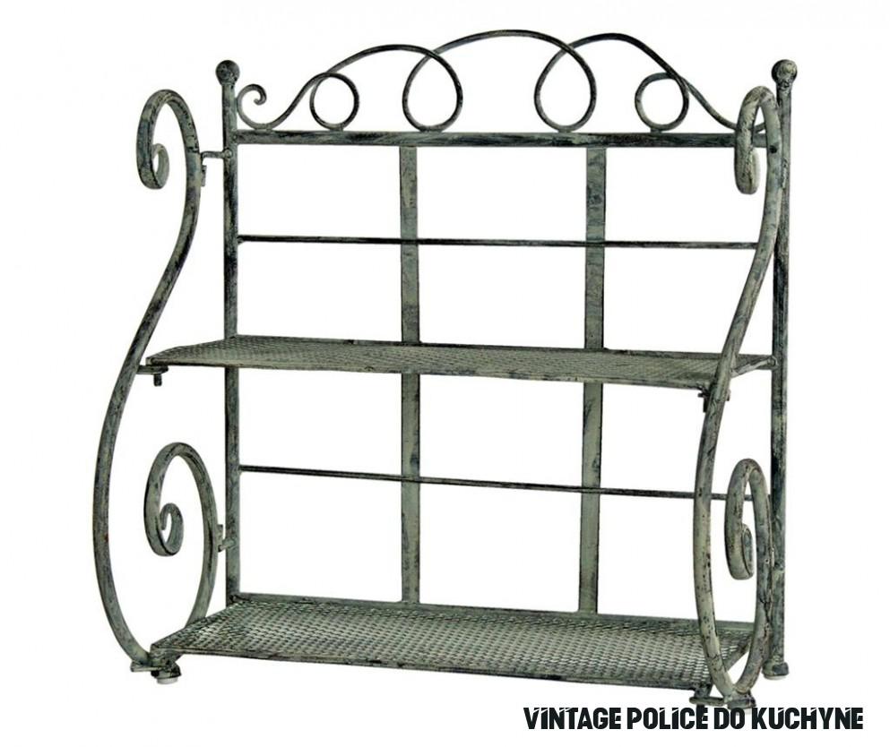 Nástěnná police Vintage