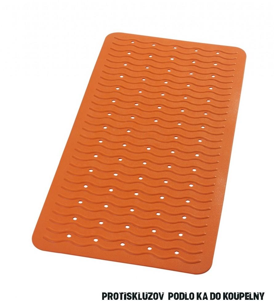 Ridder Playa Protiskluzová podložka do sprchy - oranžová 17 × 17 cm, 17.17