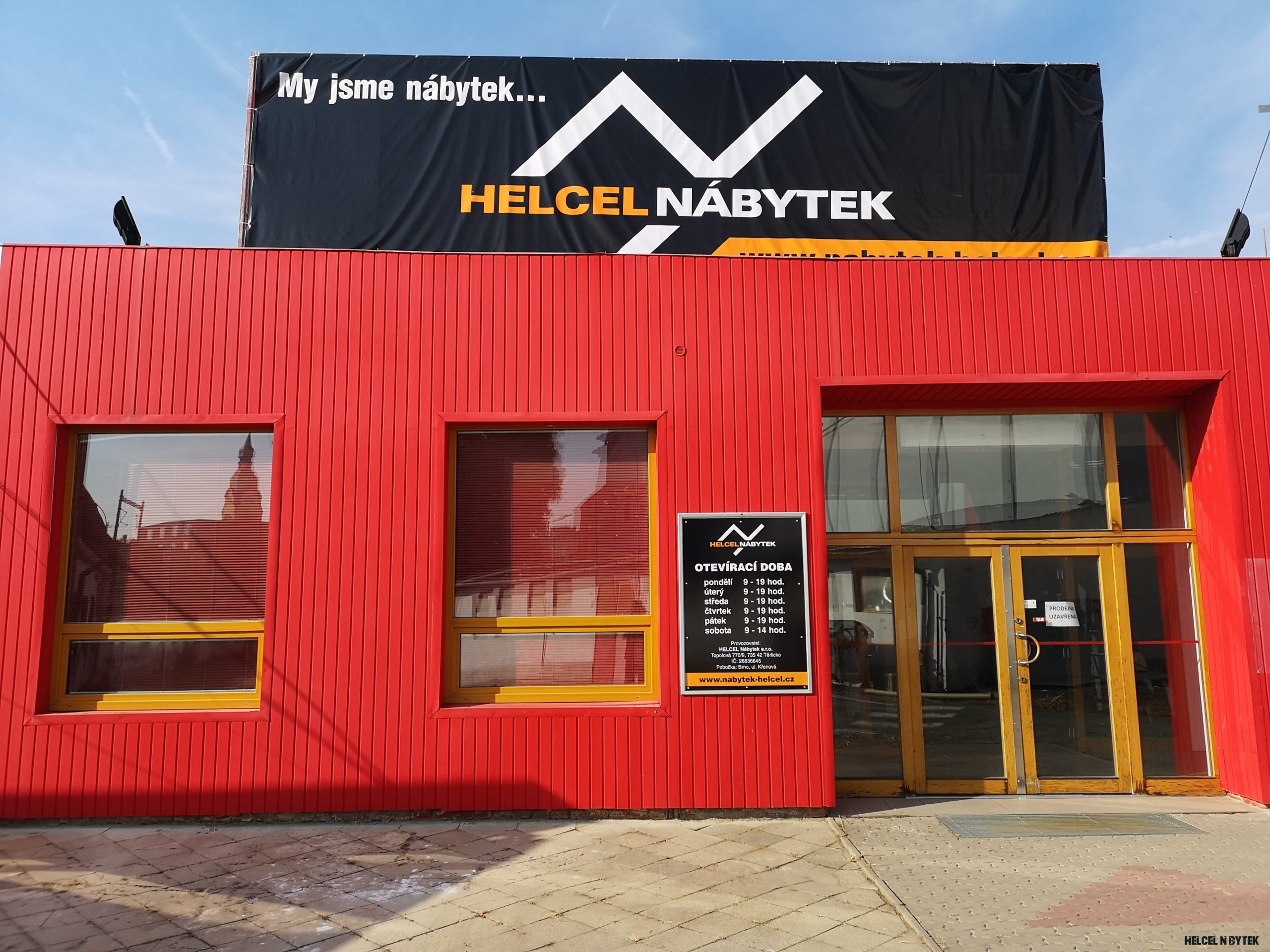 13x kamenná prodejna - www.nabytek-helcel.cz