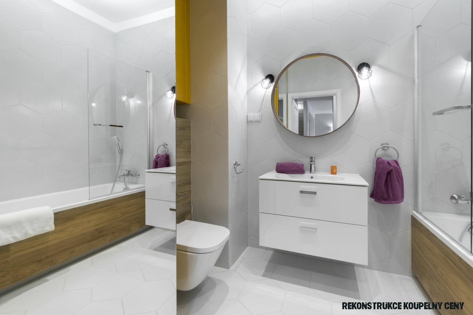 Kolik stojí rekonstrukce koupelny? Proveďte si výpočet ceny sami