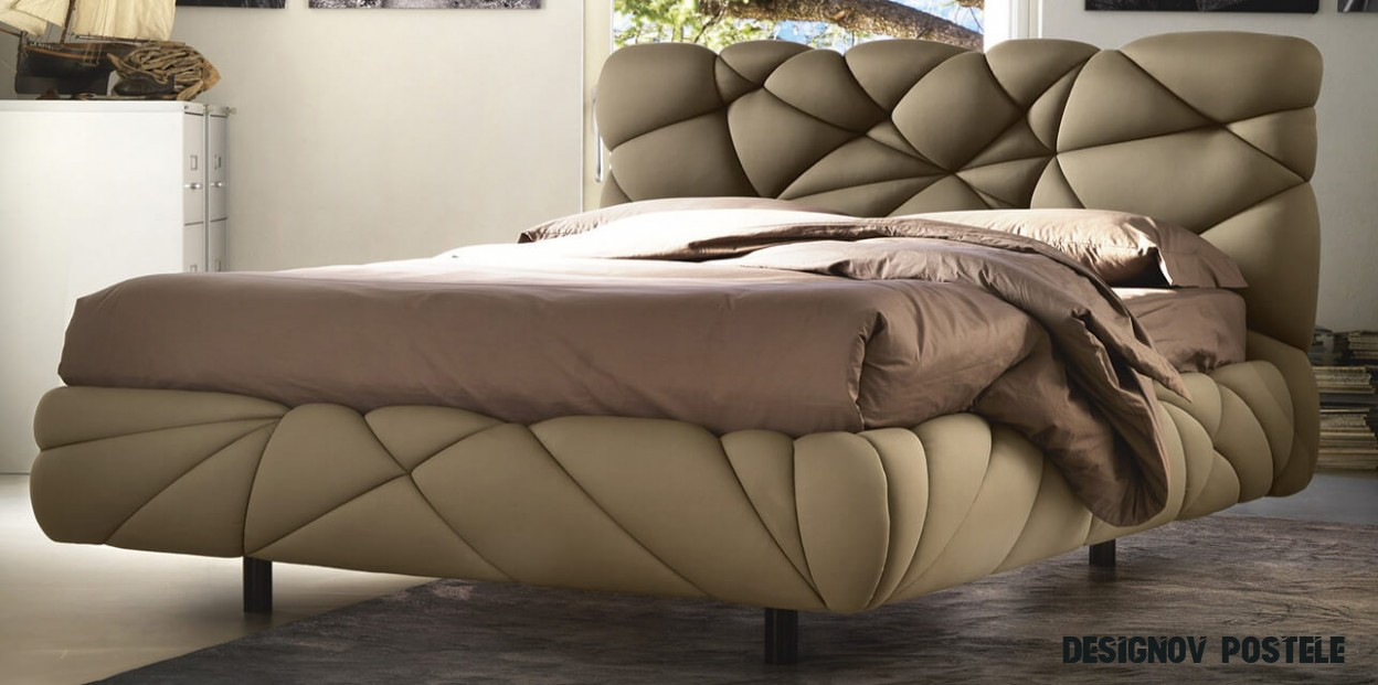 Italská designová postel model Marvin Noctis  Carelli  Designové