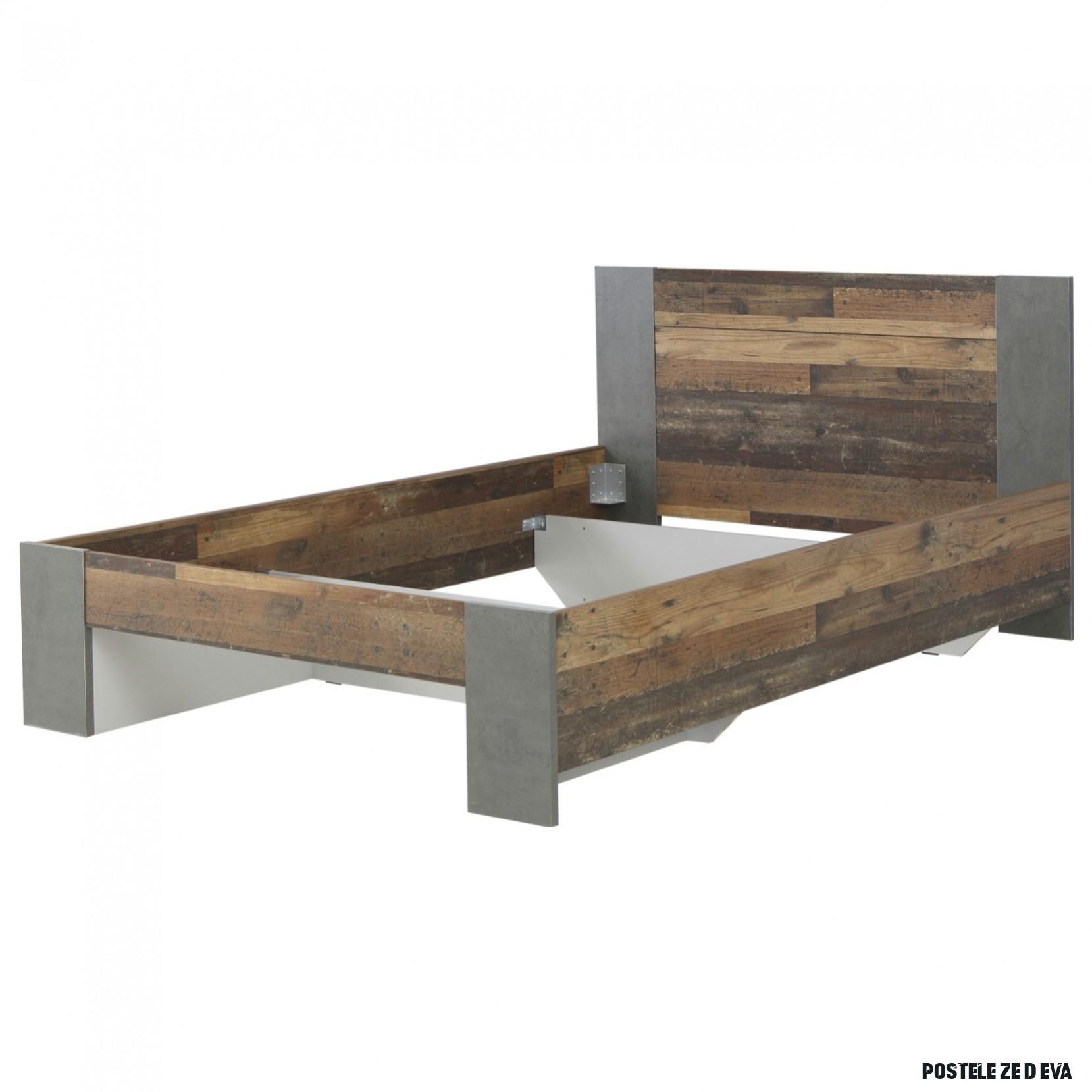 Postel CLIF staré dřevo/šedá, 15x15 cm  Sconto