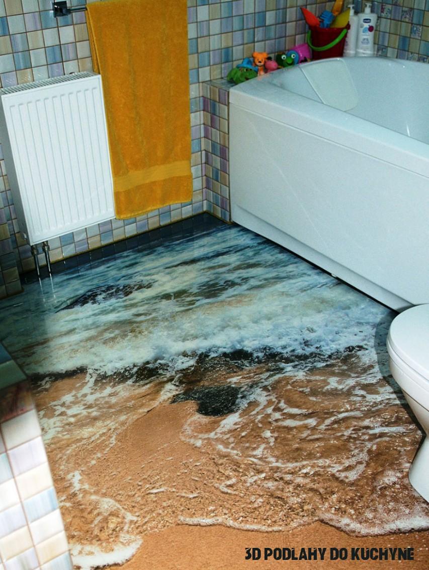 Tieto 18D podlahy premenia tvoj príbytok na oceán!