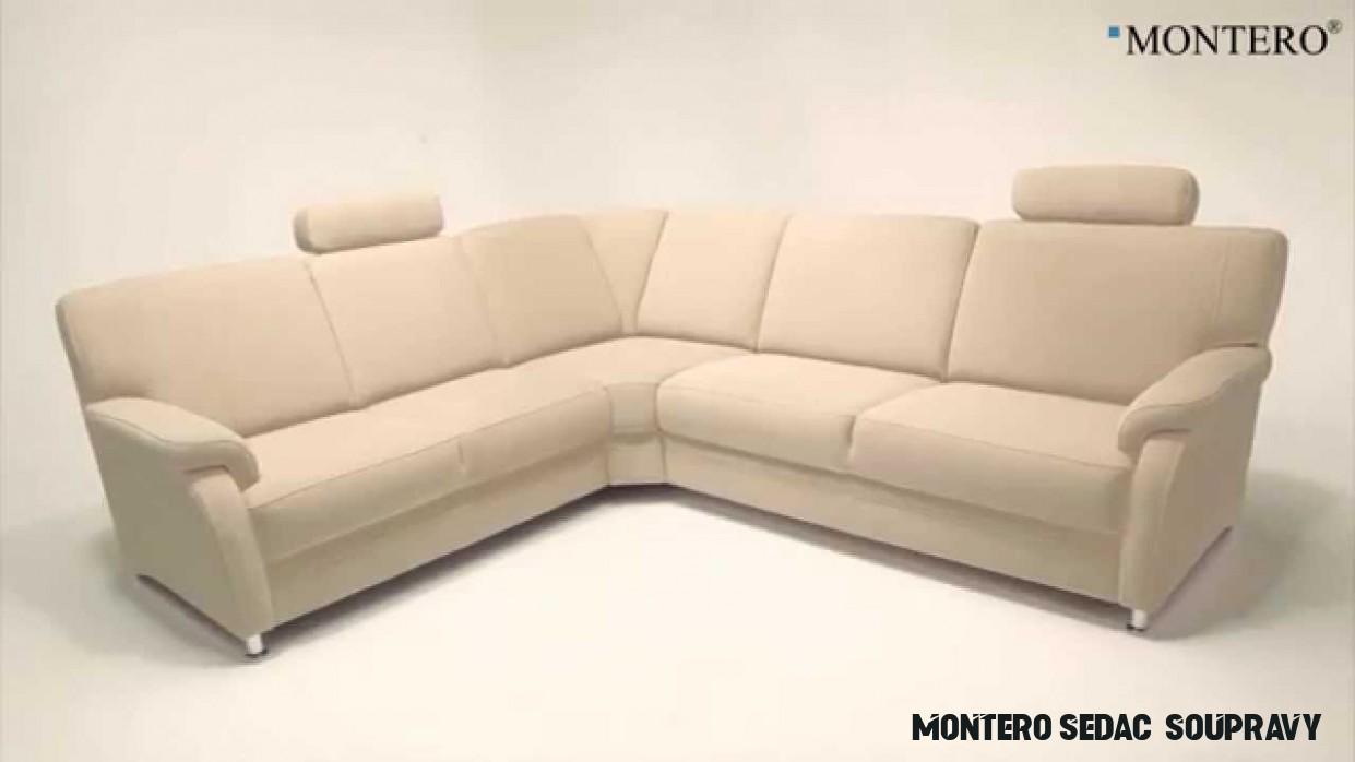 MONTERO® - Látková sedací souprava TOULOUSE S