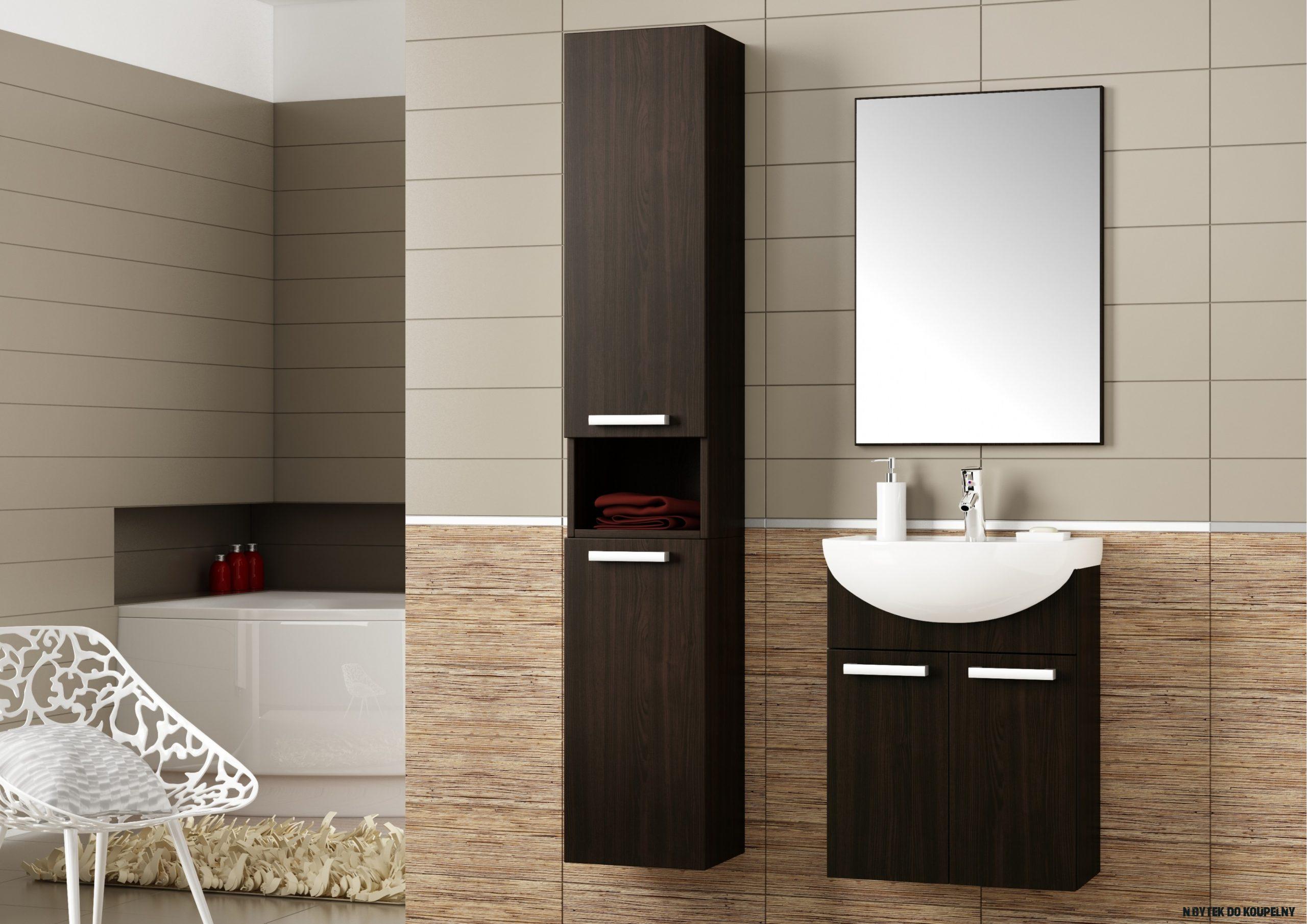 Tip designéra: krásná, moderní a praktická koupelna  Jena nábytek