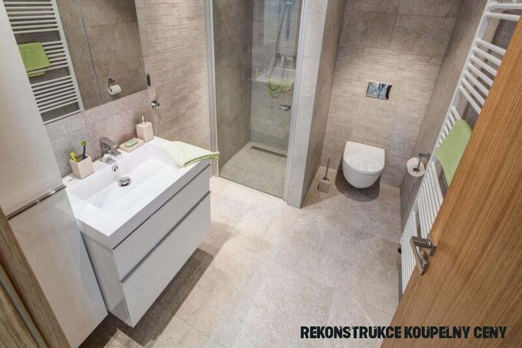 Při rekonstrukci koupelny skloubili dobrou cenu a pěkný vzhled