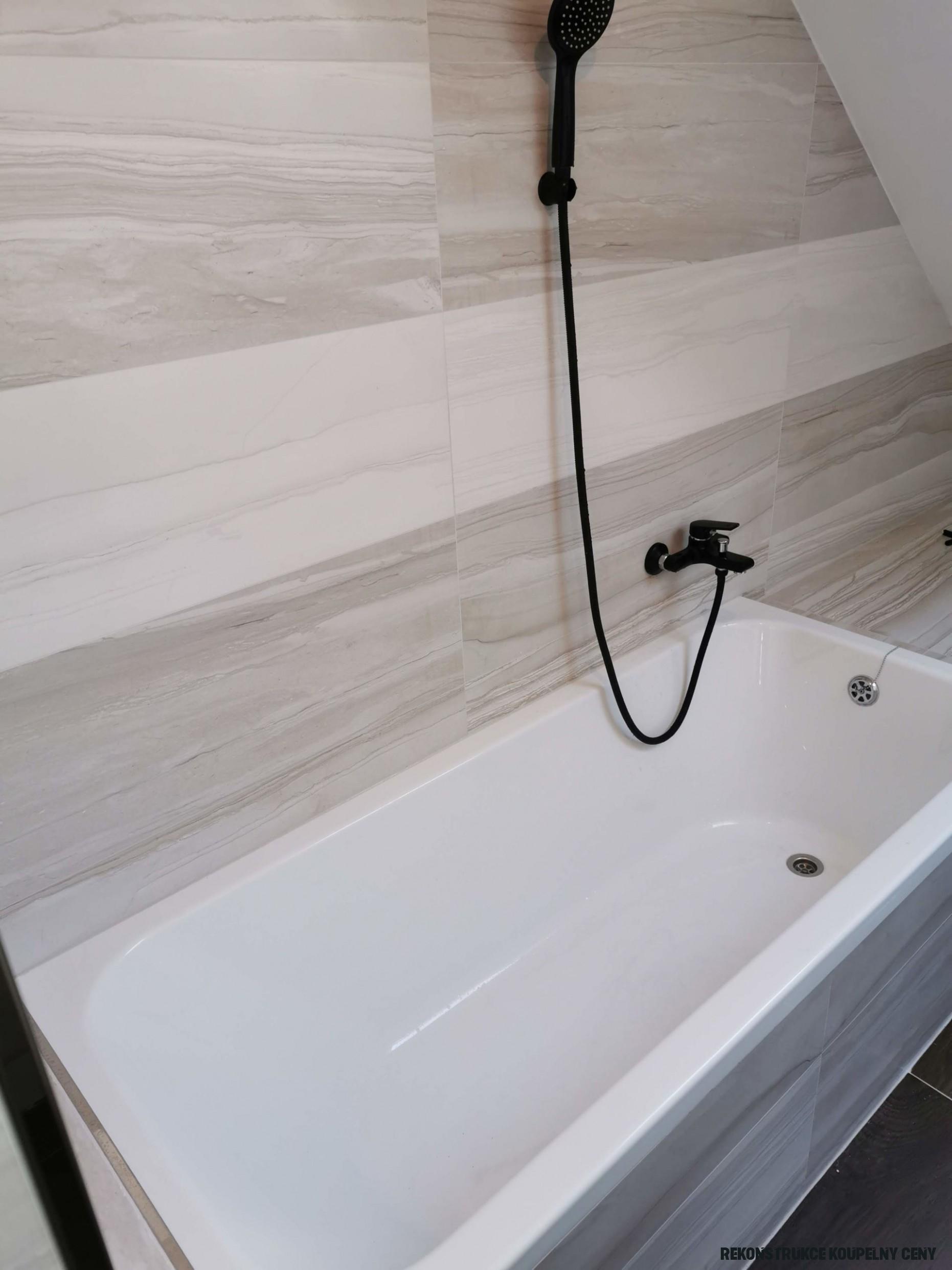 Rekonstrukce koupelny Brno  Levně se 18% zárukou a bonusem