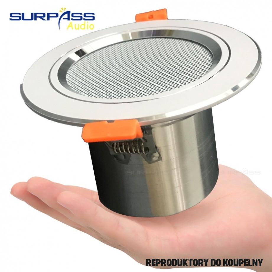 15Ohm 15W Koupelna Vlhkost-důkaz, Hliníkové Stropní Reproduktor Pozadí  Hudební Systém Módy Do stropu Reproduktor Kvalita Zvuku