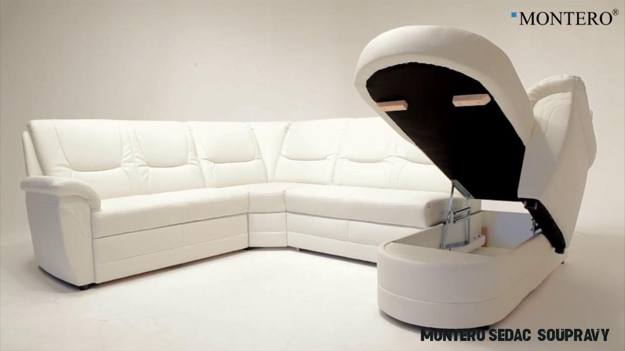 MONTERO® Látková sedací souprava PLANPOLSTER A