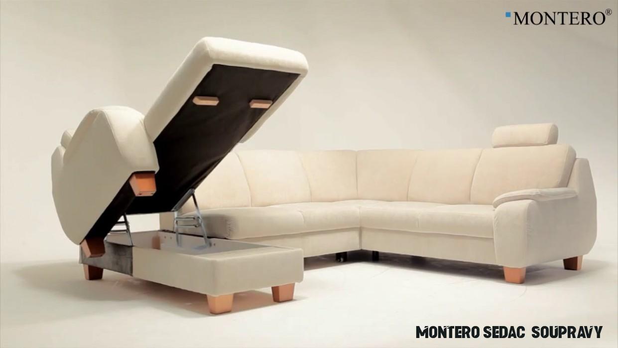 MONTERO® Látková sedací souprava ONEX