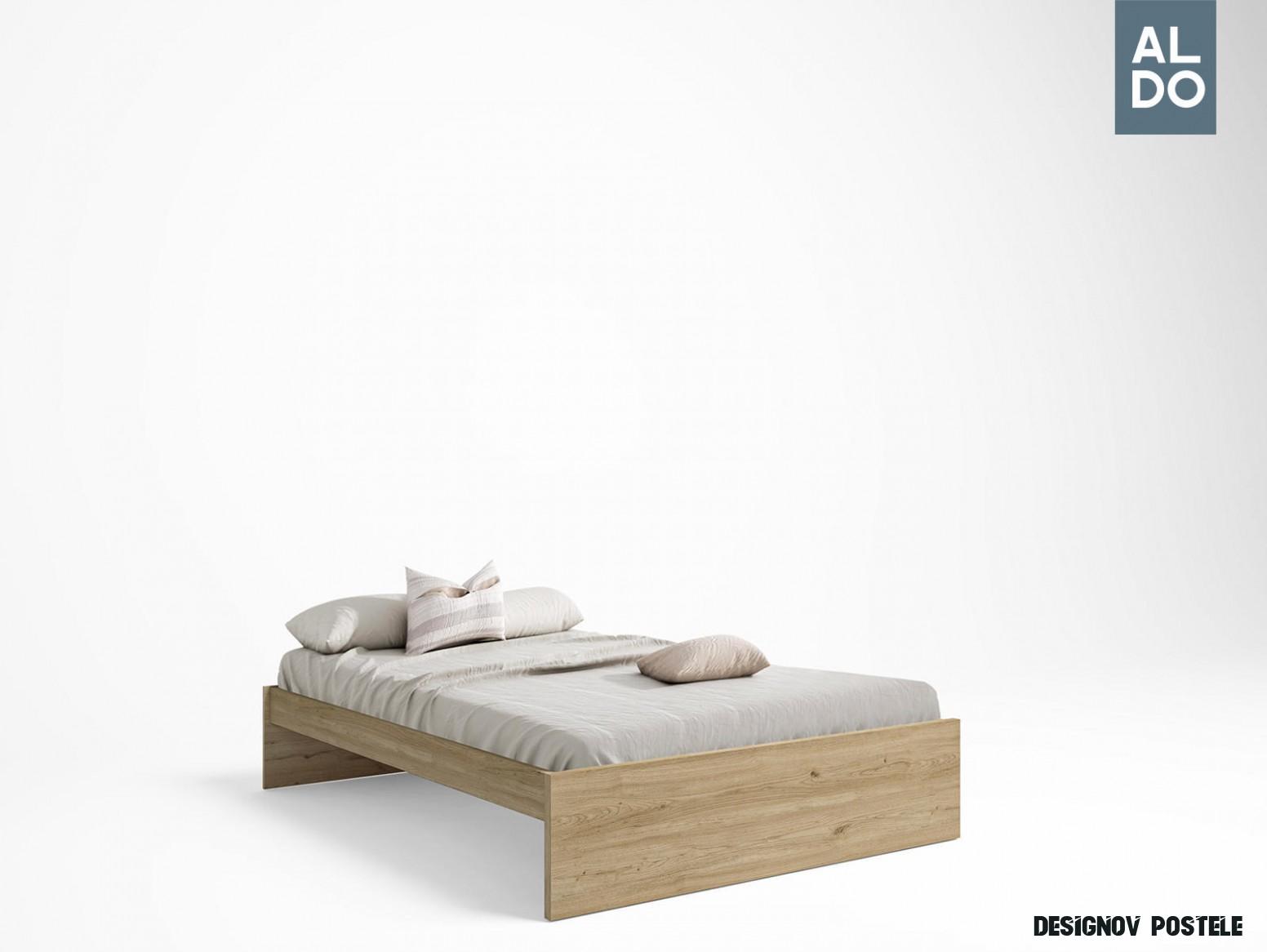 Designový set šuplíků k postelím Natural