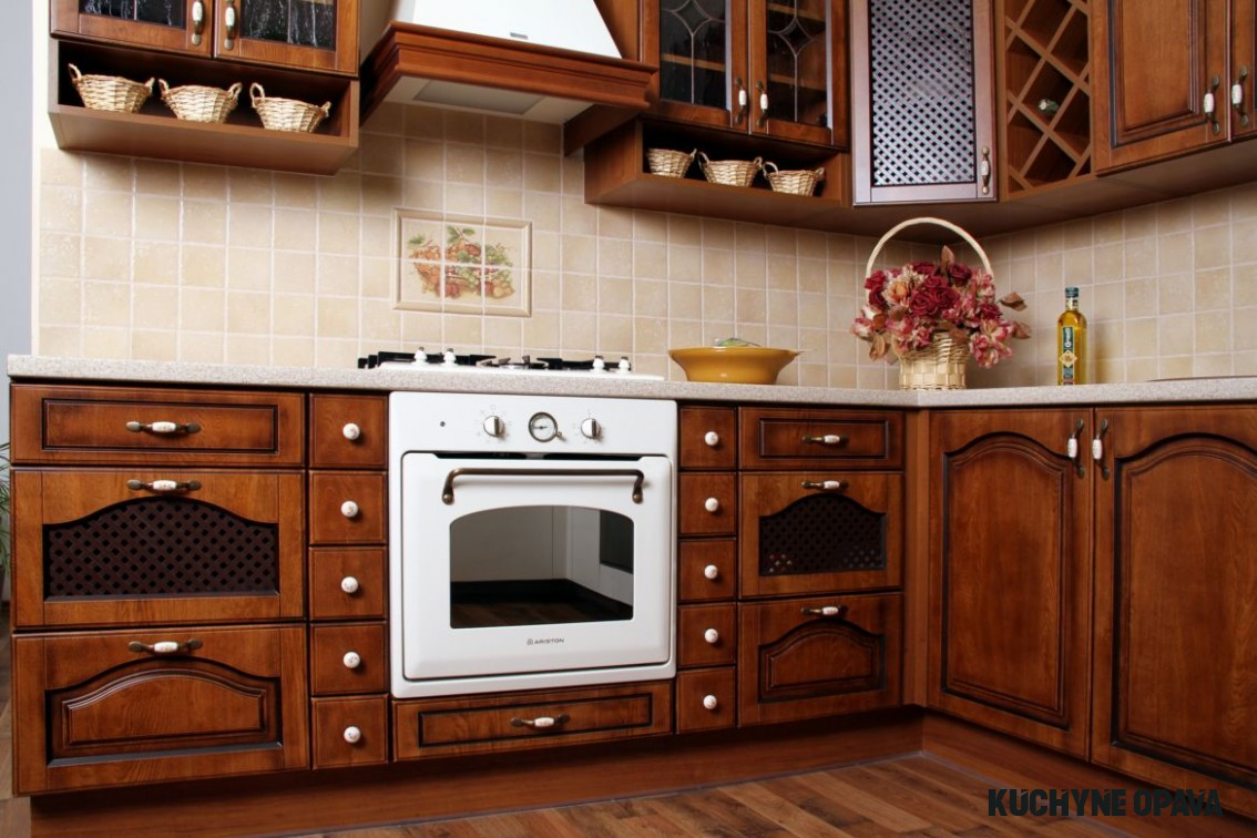 FOTOGALERIE – RUSTIKÁLNÍ A PROVANCE KUCHYNĚ  Kuchyně MERSI Opava