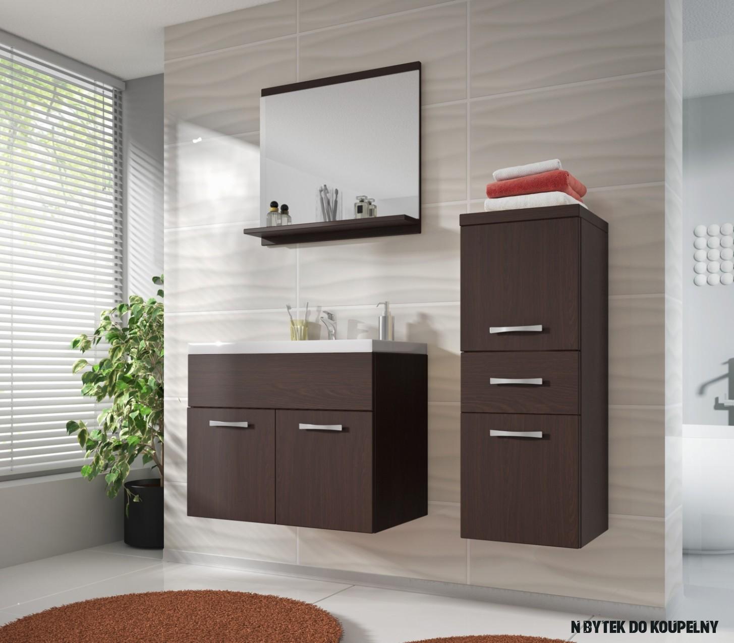 Nábytek do malé koupelny Horace 20 - wenge
