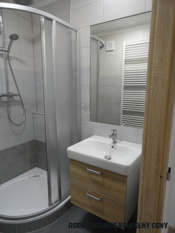 Rekonstrukce panelákové koupelny - Děláme koupelny