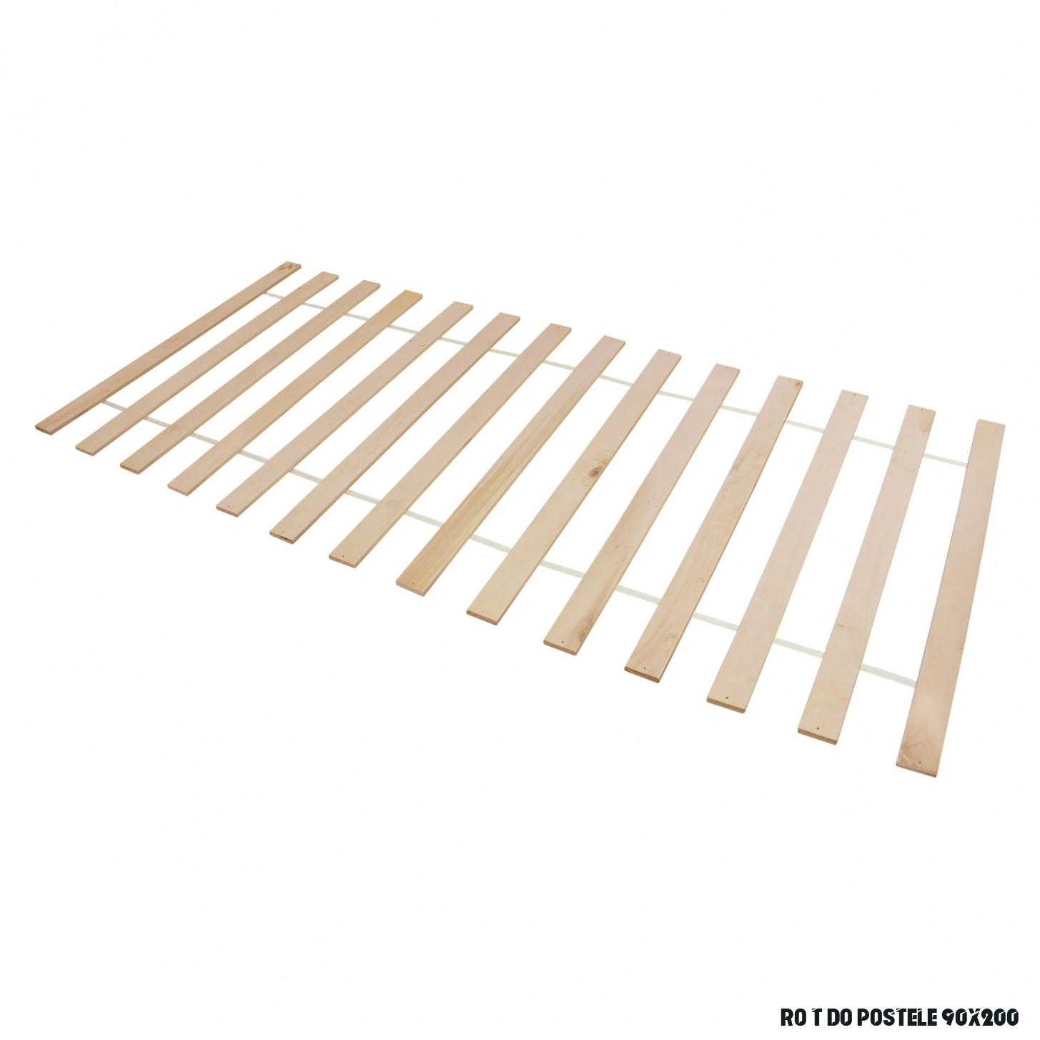 Lamelový rošt 7x7 cm - Postelové rošty - IDEA nábytek