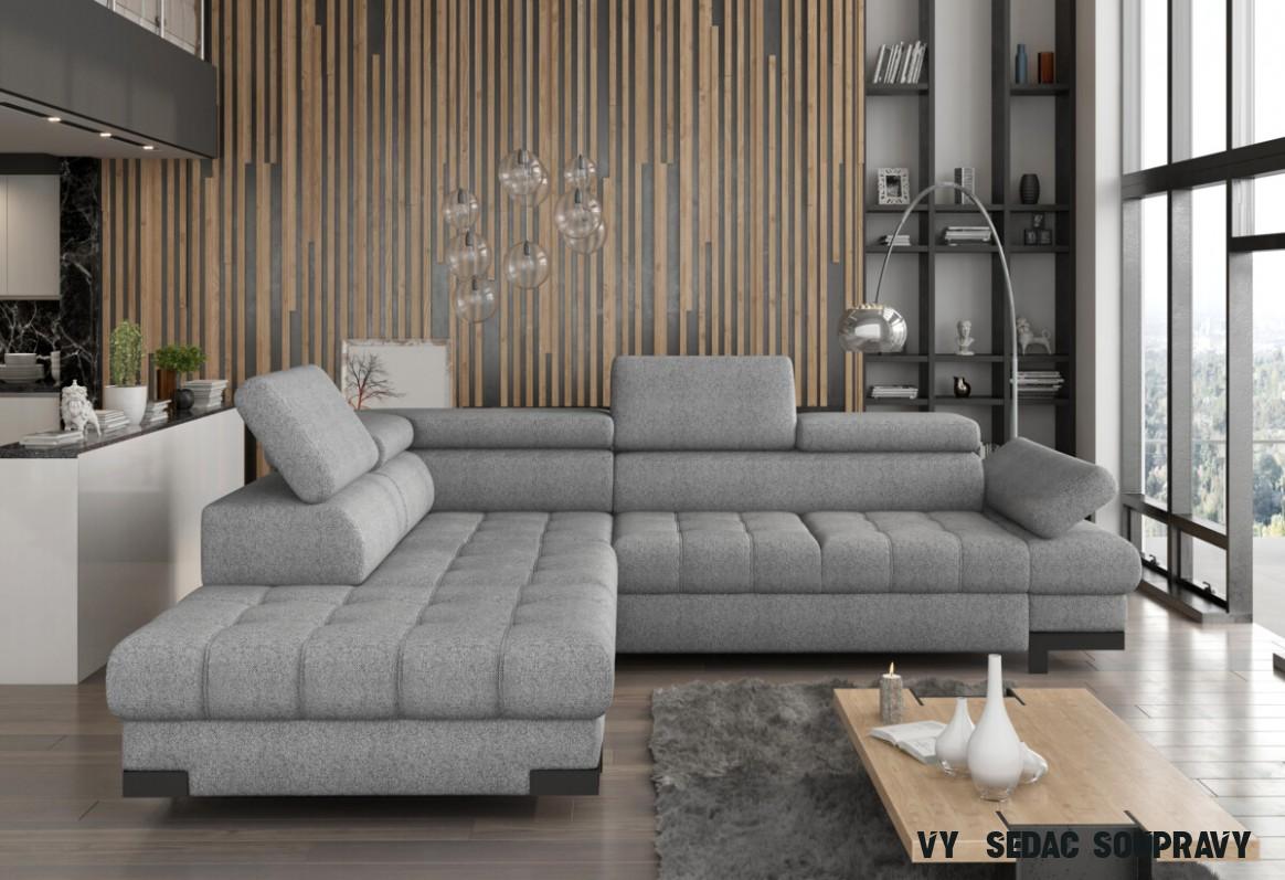 Akce - Sedací souprava rohová Selva L  Home nábytek