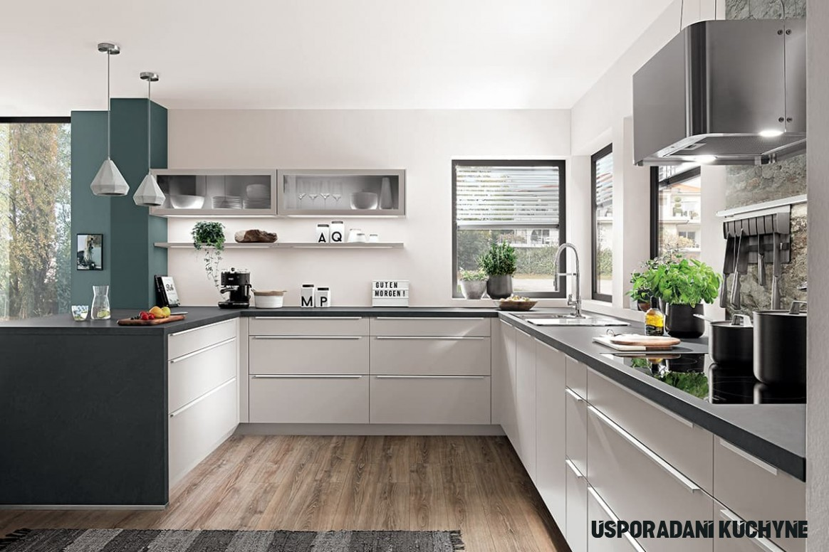 Dispozice a uspořádání kuchyně  SIKO
