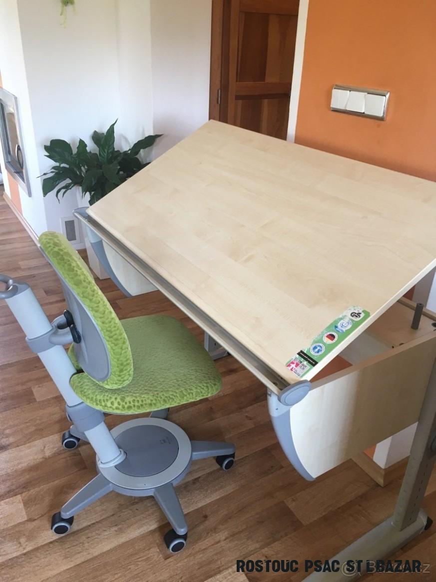 Rostoucí stůl Moll a rostoucí židle Maximo - pc15 Kč - Česká