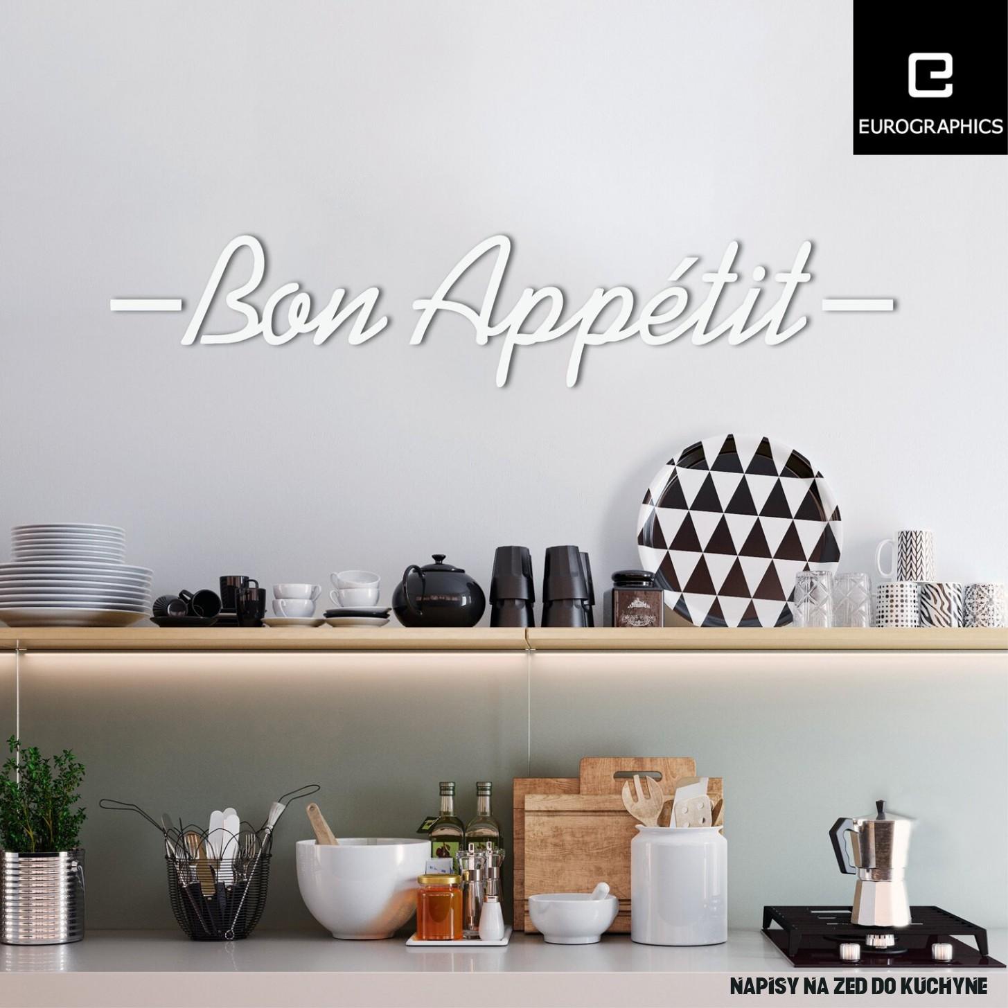 """Eurographics Tetování na zeď nápis """"Bon Appétit III"""" nakoupit u OBI"""