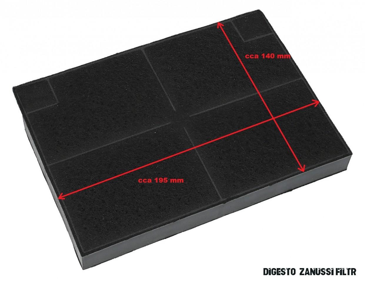 Uhlíkový filtr do odsavače digestoře ZANUSSINahradni-dily
