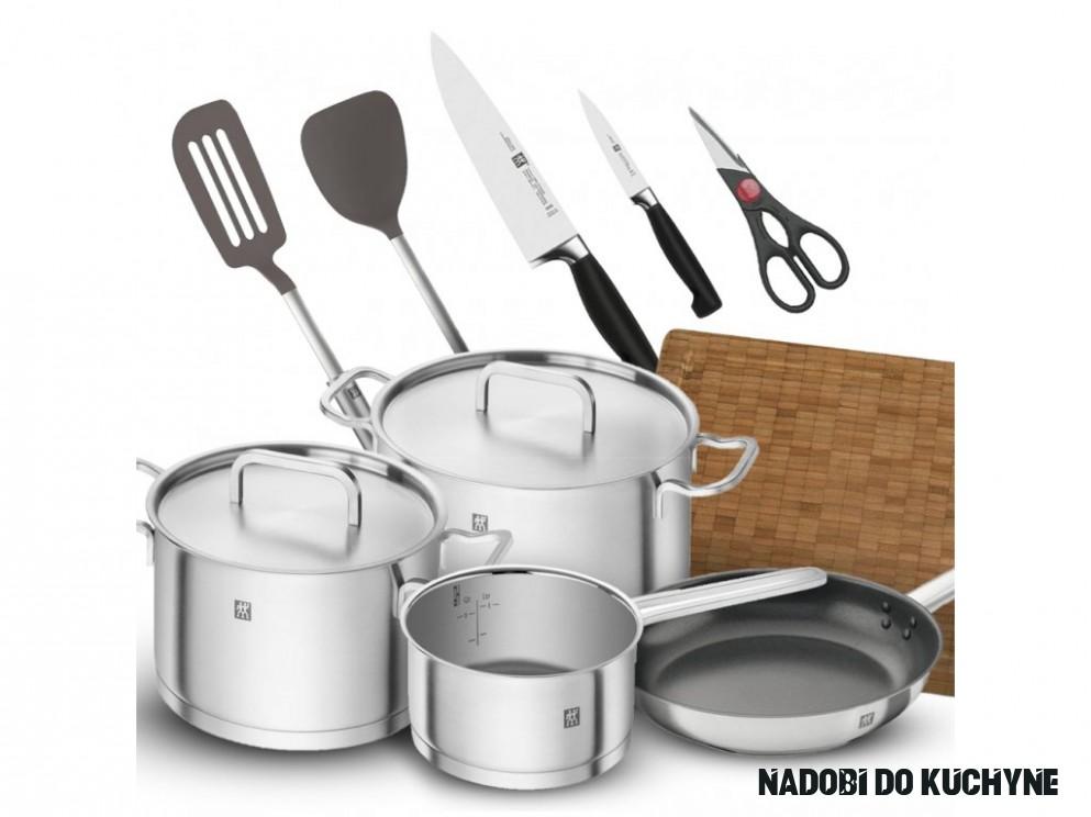 Sada nádobí a náčiní do kuchyně Premium starter set Zwilling 14 ks