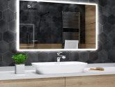 Senzacní Obraz Nápad z Zrcadlo Do Koupelny S Led Osvětlením