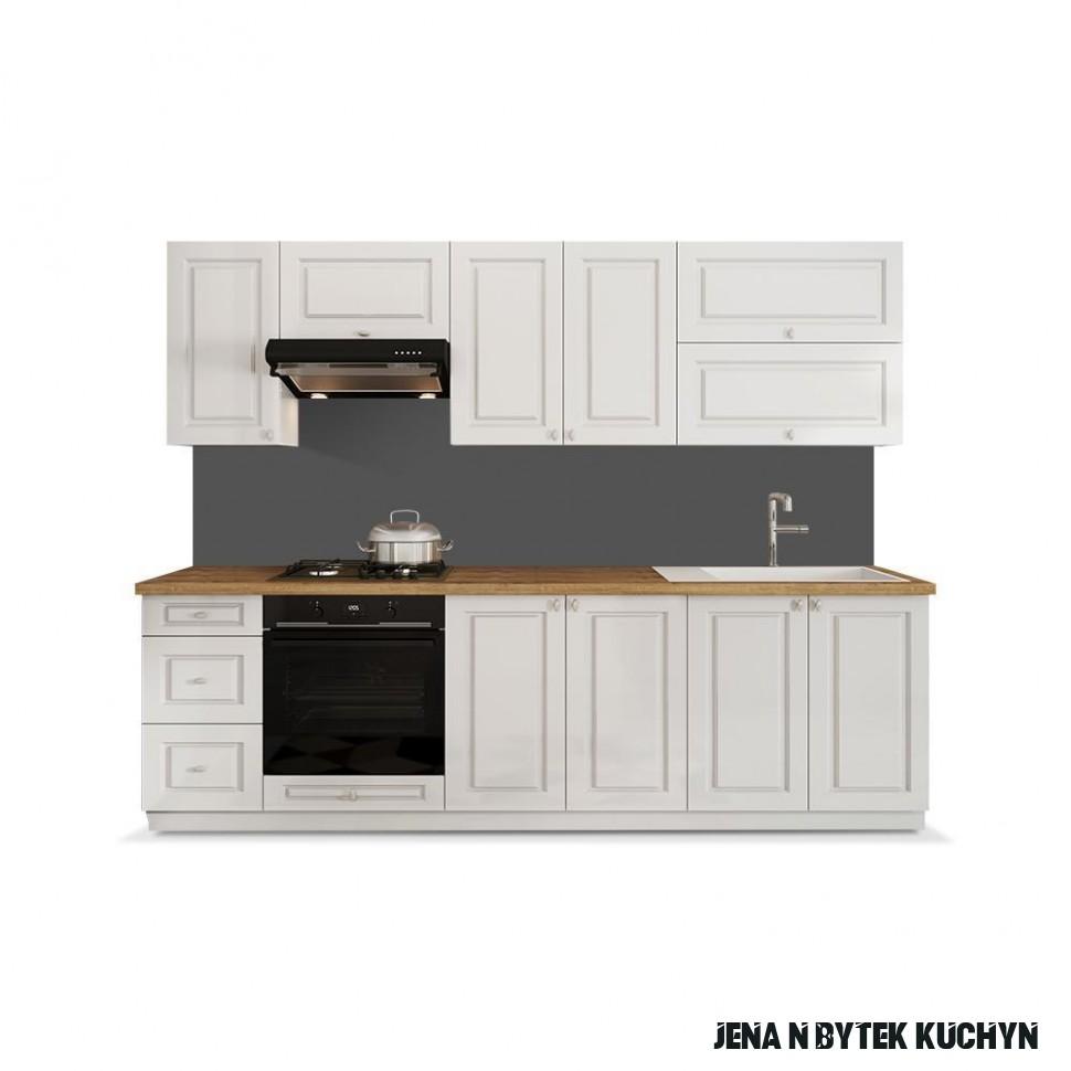 Kuchyně Amelia 18 cm (bílá mat)  JENA nábytek