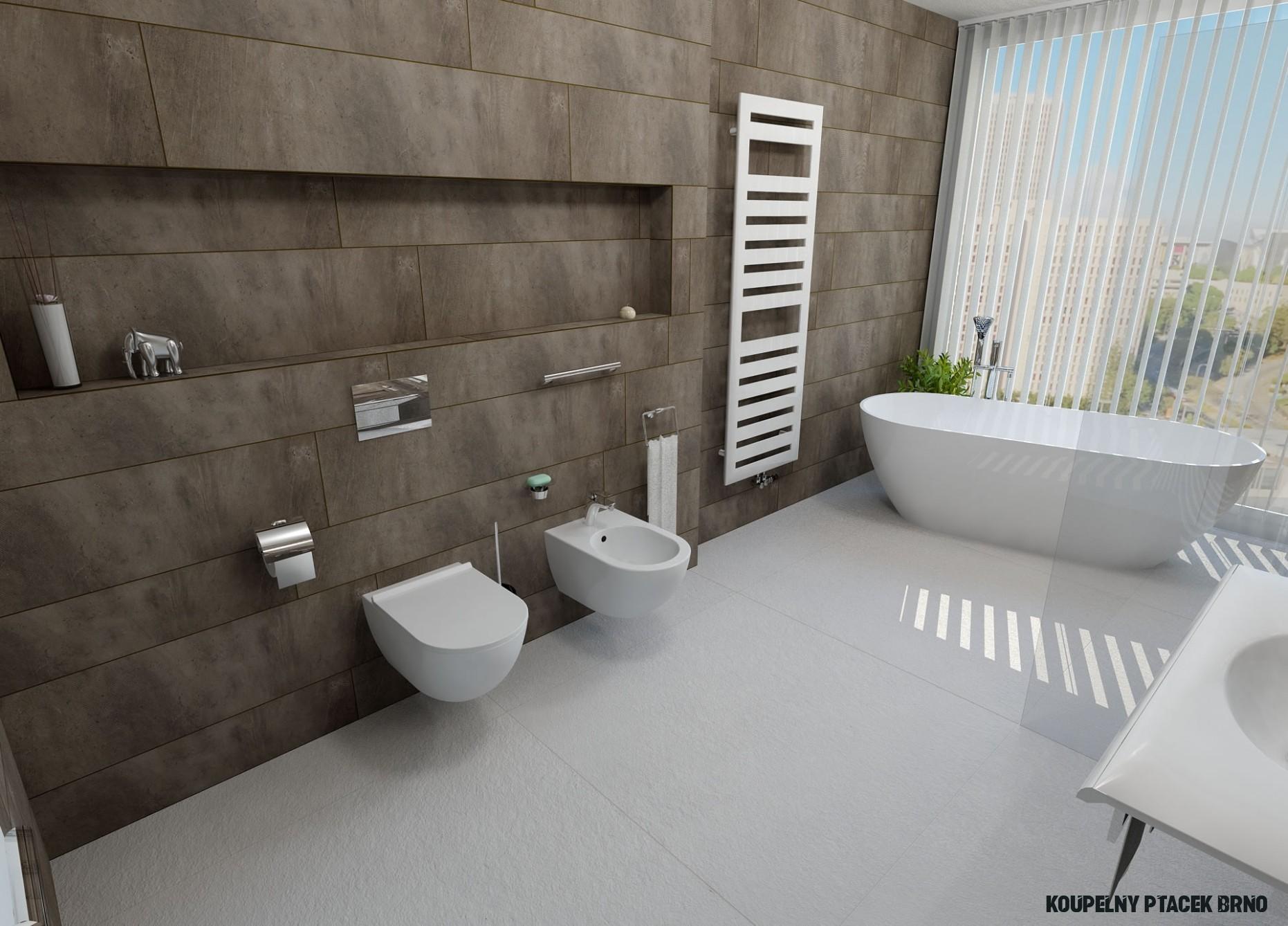 Inspirace pro koupelny - 18 nejlepších návrhů koupelen s