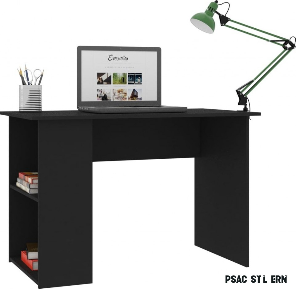 Vidaxl Psací stůl 17 x 17 x 17 cm černý