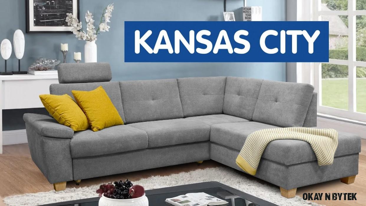 OKAY NÁBYTEK  Sedačka Kansas City