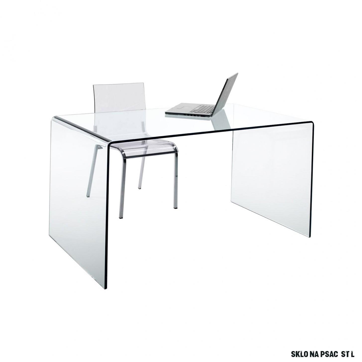 Psací stůl sklo - 13